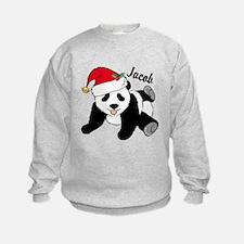 Christmas Panda Custom Sweatshirt