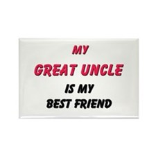 My GREAT UNCLE Is My Best Friend Rectangle Magnet