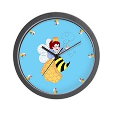 Bee Muse Wall Clock