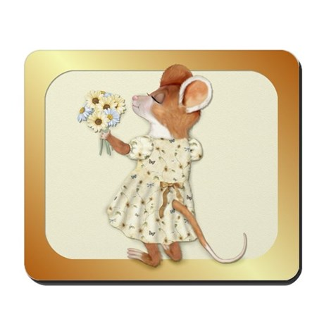Daisy Bouquet Mouse Mousepad