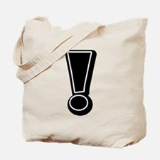 Exclamation | Black Tote Bag
