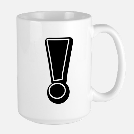 Exclamation | Black Mugs