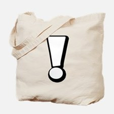 Exclamation | White Tote Bag