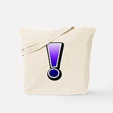 Exclamation | Plasma Tote Bag