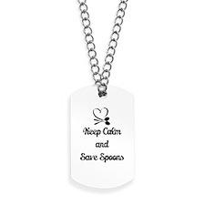 Save Spoons Dog Tags