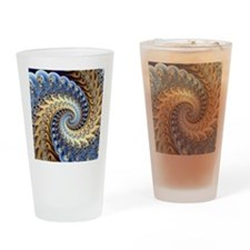 Embrace Drinking Glass