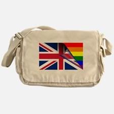 U.K. Gay Pride Rainbow Flag Messenger Bag