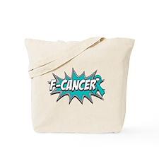 F Peritoneal Cancer Tote Bag