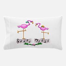 Dancing Pink Flamingos - Pillow Case