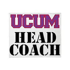 UCUM Head Coach Throw Blanket