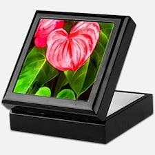 Cute Tropical Keepsake Box