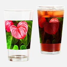 Unique Tropical plants Drinking Glass