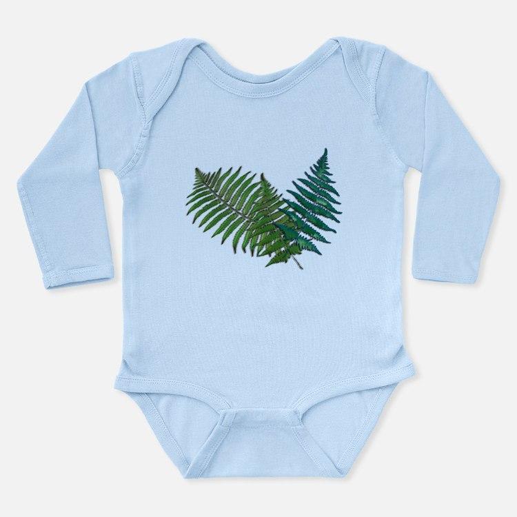 Tropical Fern Trio Body Suit