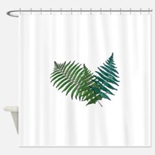Cute Botanical Shower Curtain