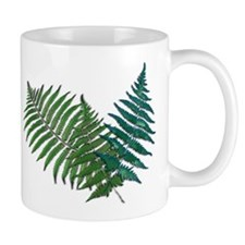 Tropical Fern Trio Mugs
