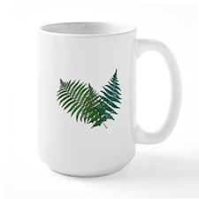 Tropical Fern Trio Mugs
