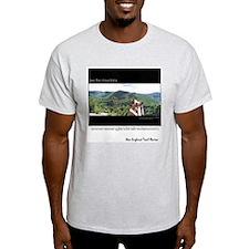 Mount Willard View Ash Grey T-Shirt