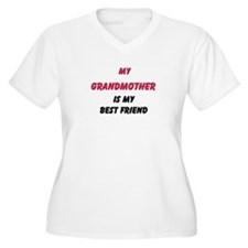 My GRANDMOTHER Is My Best Friend T-Shirt