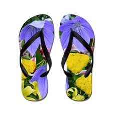 Mixed Flowers Flip Flops
