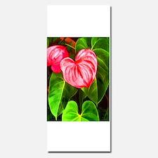 Tropical Red Anthurium Plant Invitations