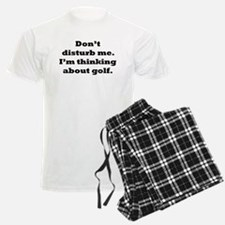 Thinking About Golf Pajamas