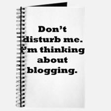 Thinking About Blogging Journal