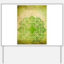 Exotic Green Jade Yard Sign