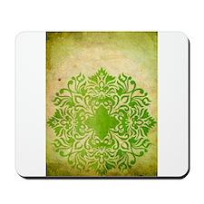 Exotic Green Jade Mousepad