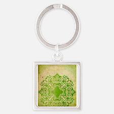 Exotic Green Jade Keychains