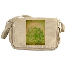 Exotic Green Jade Messenger Bag