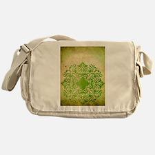 Exotic Green Jade Messenger Bag
