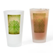 Exotic Green Jade Drinking Glass