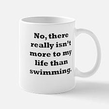 Swimming My Life Mugs