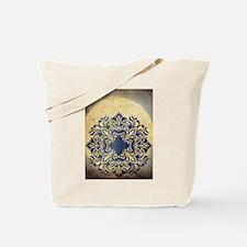 India Midnight Moon Tote Bag