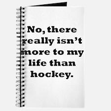 Hockey My Life Journal