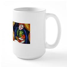 Girl with Cat Mug