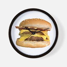 Stacked Burger Wall Clock