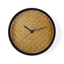 Goldfish Scales Wall Clock