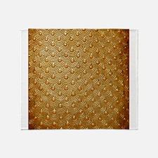 Goldfish Scales Throw Blanket