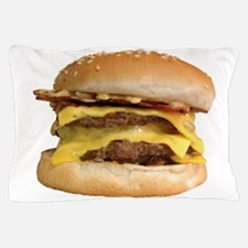 Stacked Burger Pillow Case