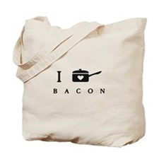 I Heart Cook Bacon Tote Bag