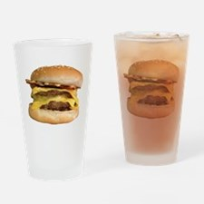 Stacked Burger Drinking Glass