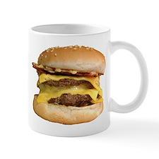 Stacked Burger Mugs