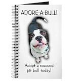 Bull terrier Journals & Spiral Notebooks