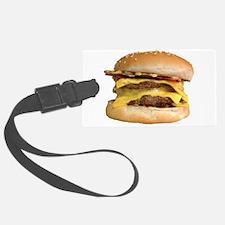 Stacked Burger Luggage Tag