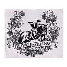 Derby Darling Throw Blanket
