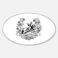 Derby Darling Sticker (Oval)