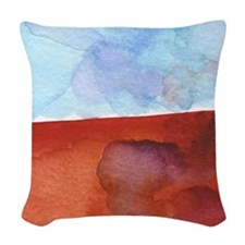 In Limbo - Cinnabar Woven Throw Pillow