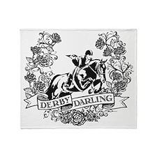 Derby Darling Throw Blanket