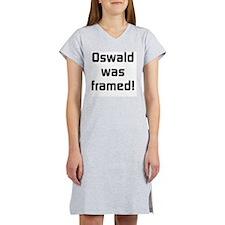 Oswald Was Framed Women's Nightshirt